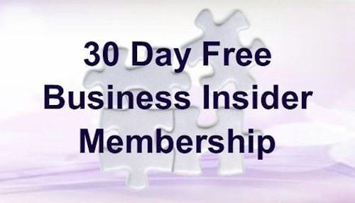 30 days free business Insider