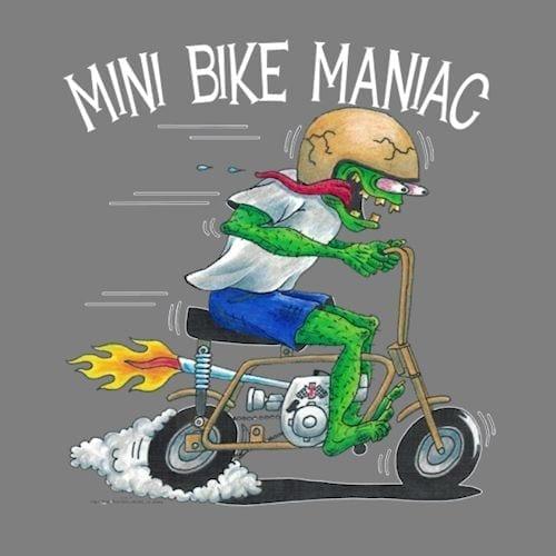 Golden Pinto Mini Bike Maniac