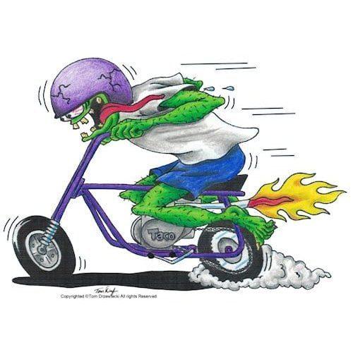 Taco Mini Bike Maniac