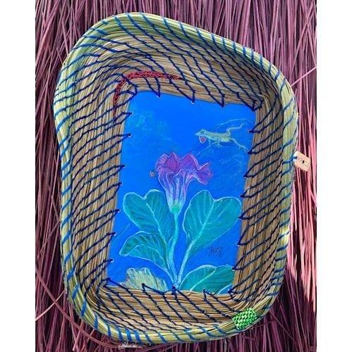 199 - Anole, Lady Bug & Flower Base - 1