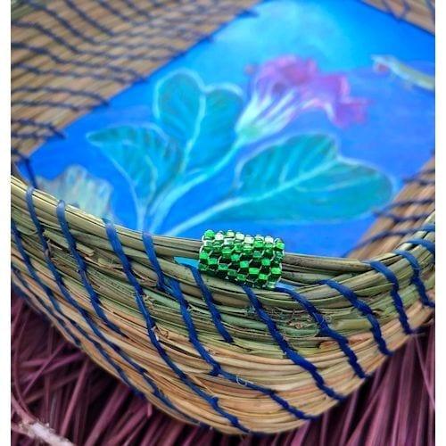 199 - Anole, Lady Bug & Flower Base - 4