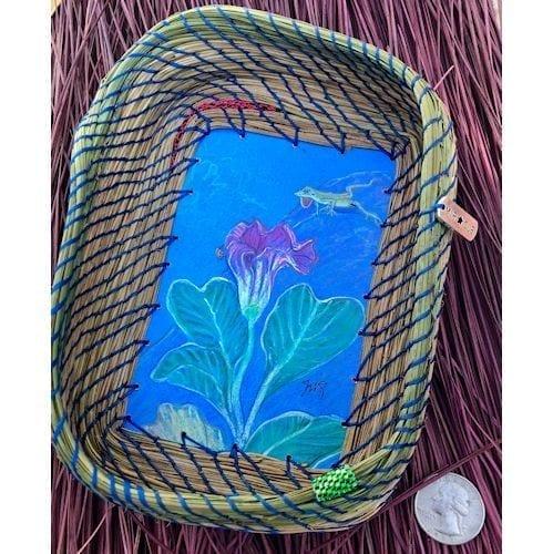 199 - Anole, Lady Bug & Flower Base - 5